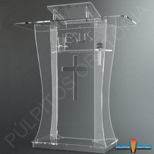 Púlpito de Acrílico . Entregamos em todo Brasil - Ligue Grátis 0800-887-1648.