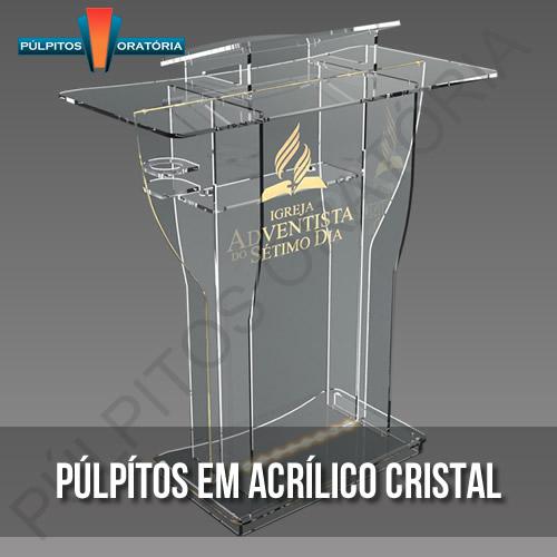 Púlpitos de Acrílico
