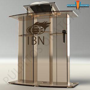 Púlpito de Acrílico Modelo PP25 Colorido