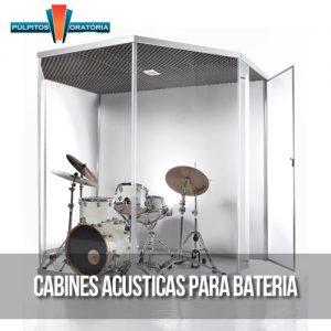 Cabines Acústica de Bateria
