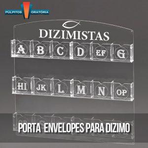 Porta Envelopes para Dizimo